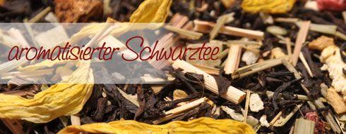 Aromatisierter Schwarztee